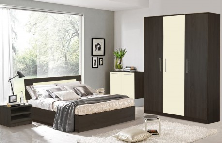 Dormitor Sonoma Wenge