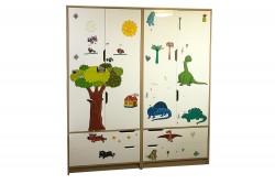 Set 2 dulapuri pentru Copii
