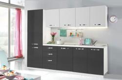 Bucatarie Black & White